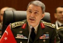 "Photo of وزير الدفاع التركي ""خلوصي آكار"" يدعو الجيش لرفع الجاهزية شمالي سوريا"
