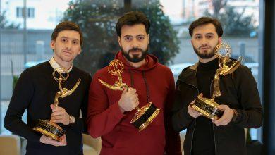 "Photo of سوريون ينالون جائزة ""إيمي"" العالمية عن فيلم الكهف"